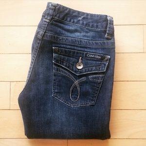 Women's CALVIN KLEIN Lean Boot Cut Jeans
